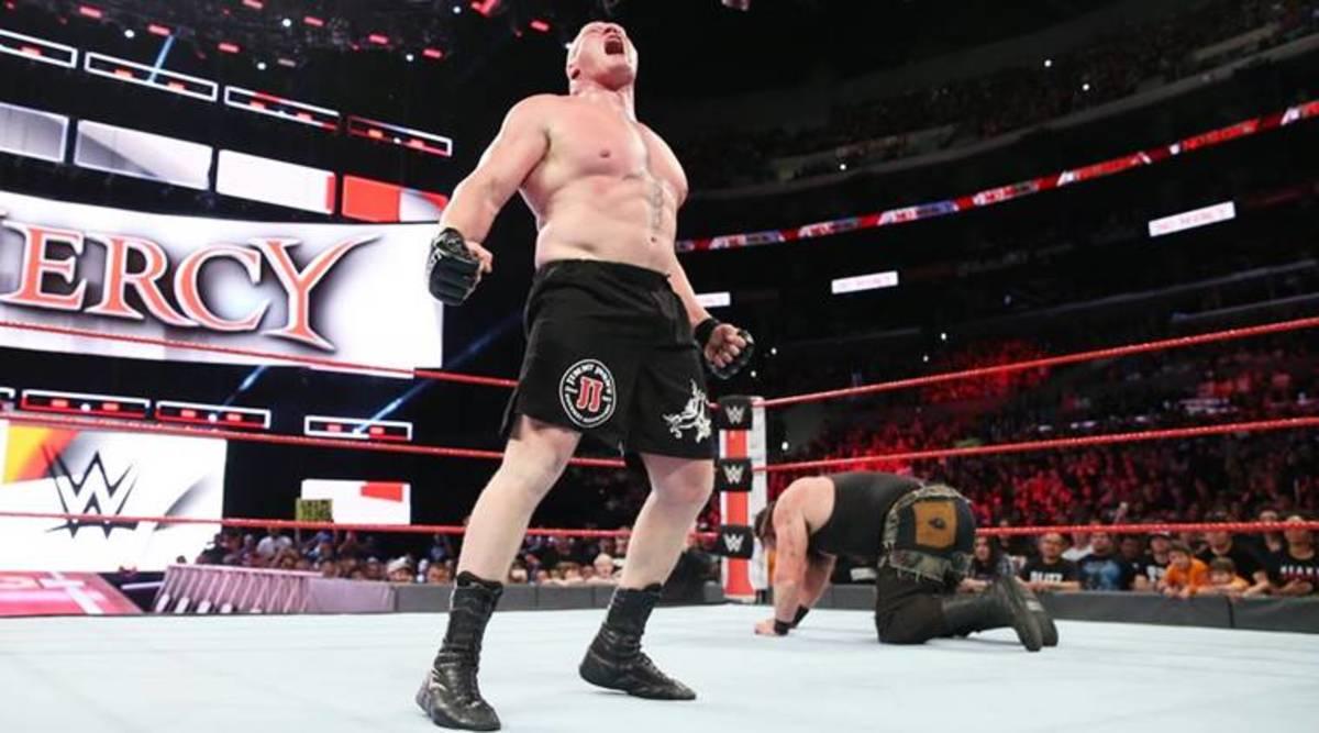 Brock Lesnar vs. Braun Stroman
