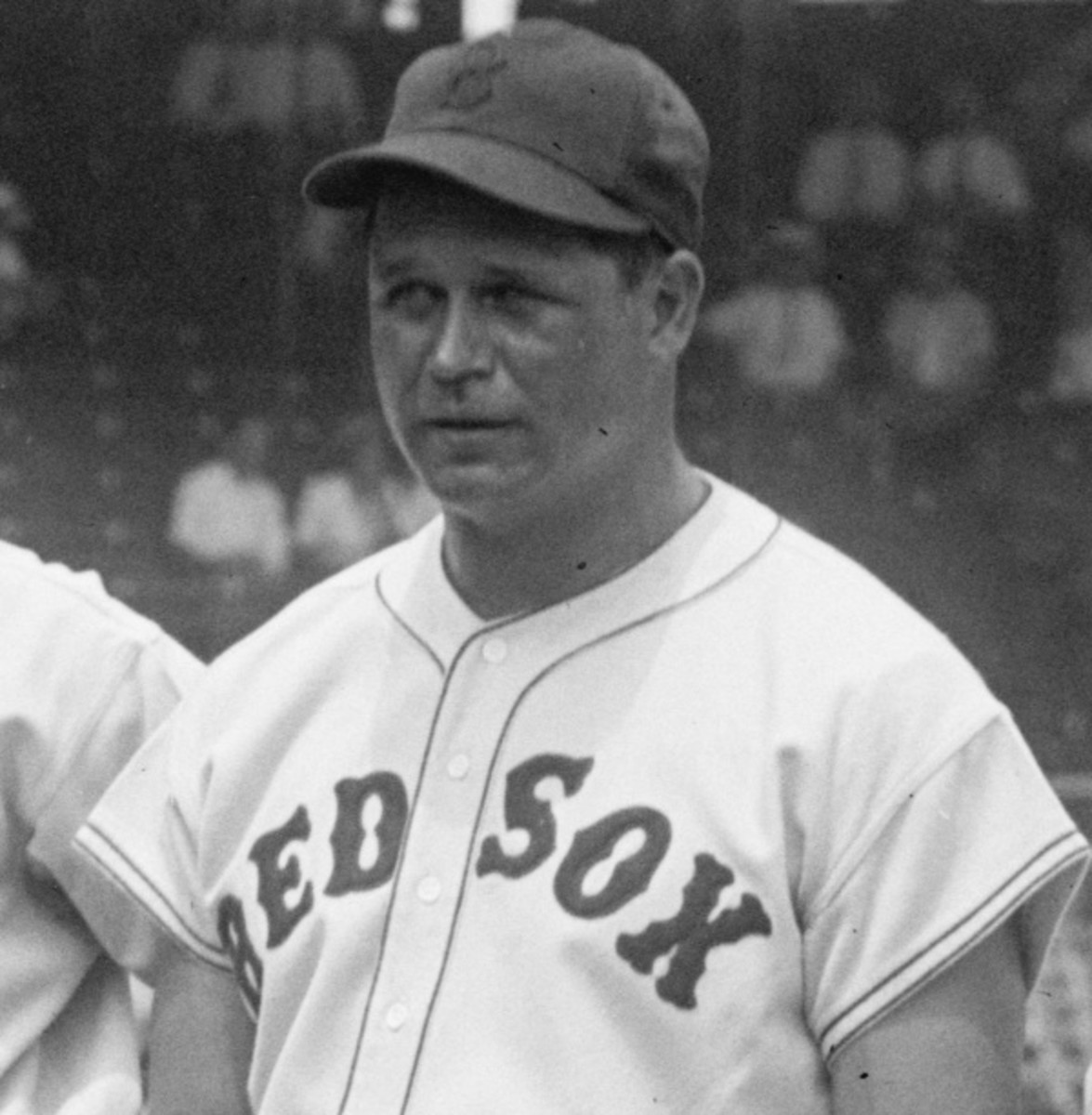 Jimmie Foxx reached 50 homers twice, with the Philadelphia A's and Boston Red Sox.