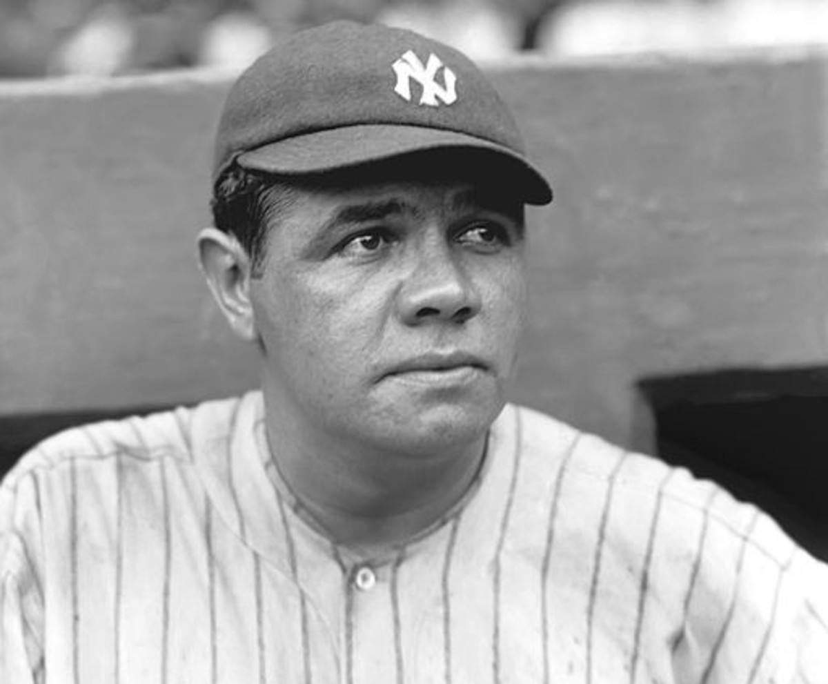 Babe Ruth hit 16 triples to go along with his 59 homers in 1921.