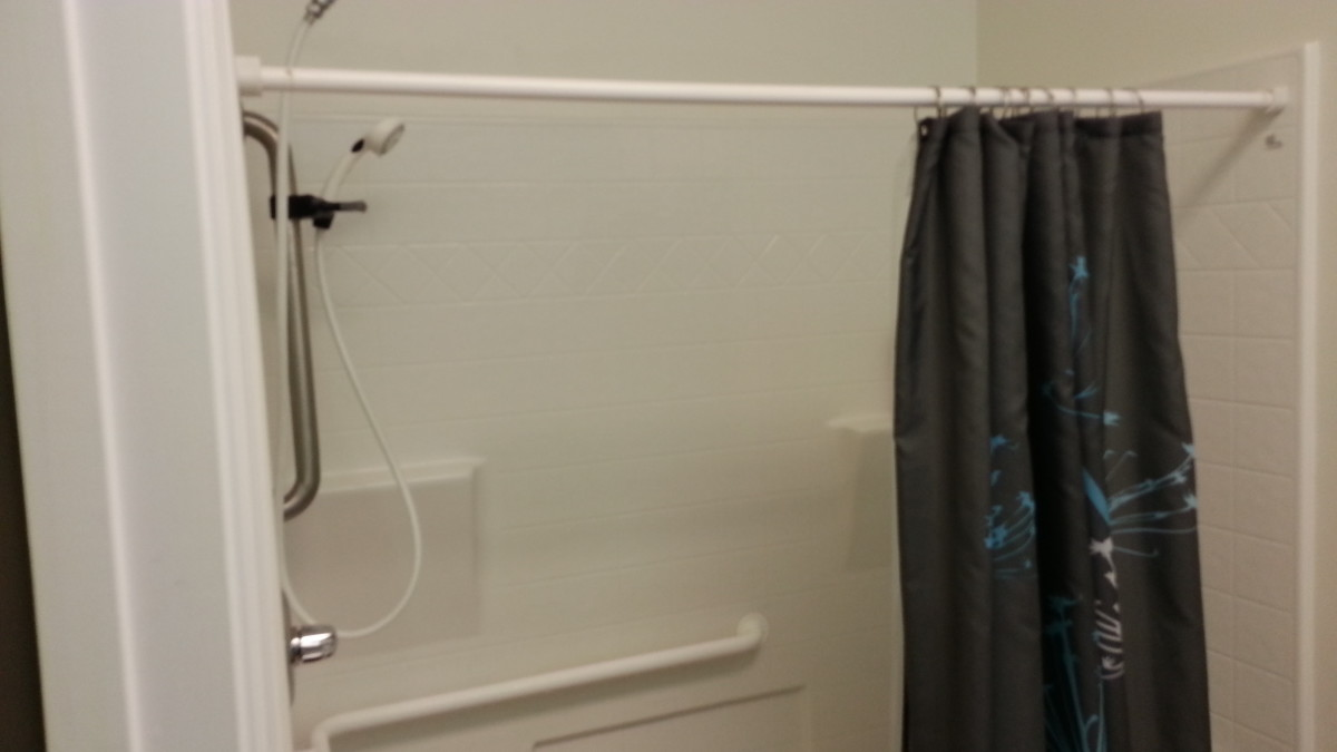 A shower is a must-have at any BJJ gym, if at all possible.