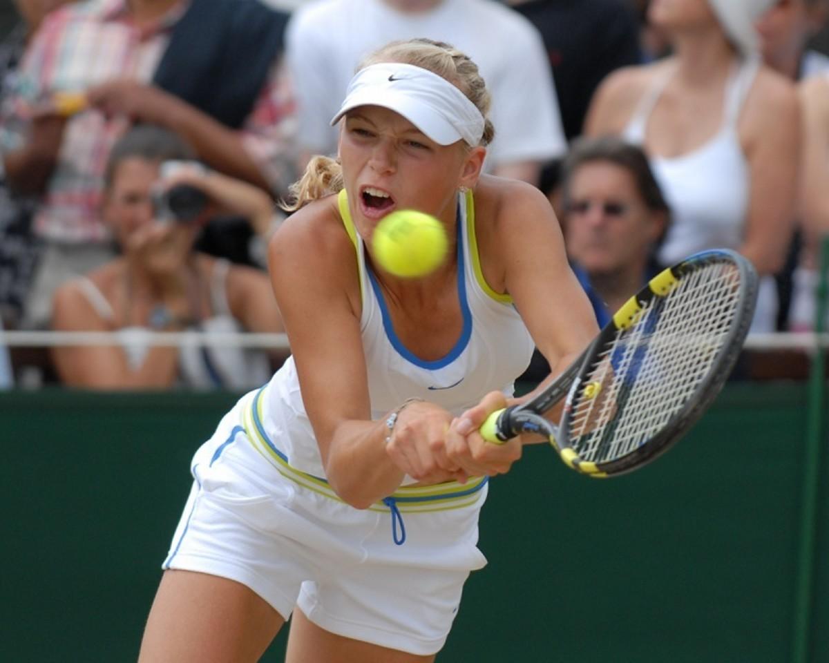 Caroline Wozniacki, Wimbledon Finals 2006