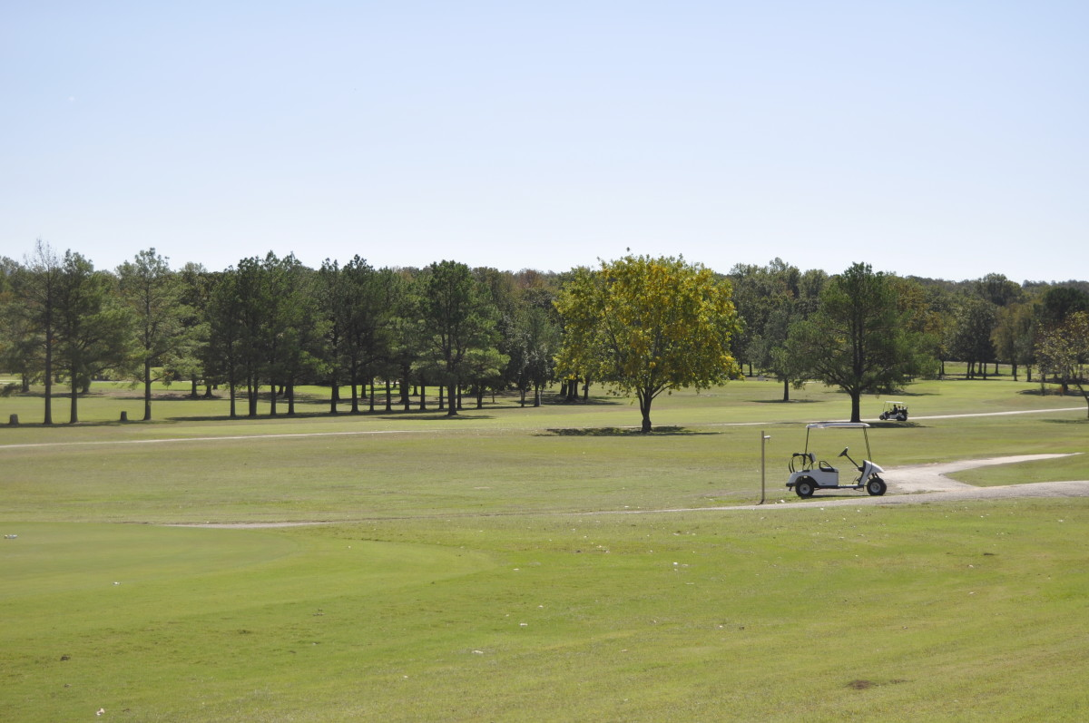 Another View of the Choctaw CC Golf Course