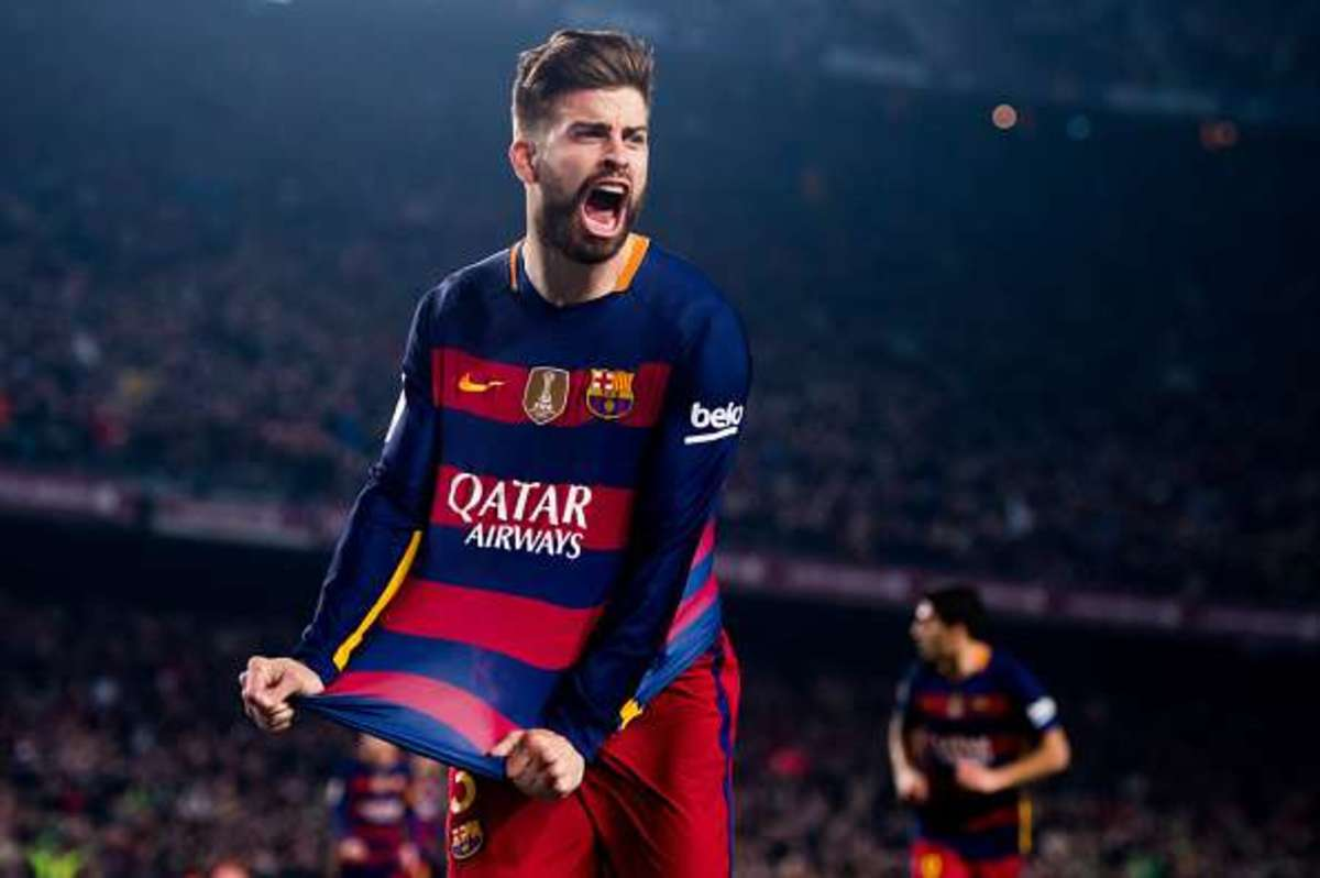Gerard Pique is a centre-back who has played for Barcelona for 10 years.