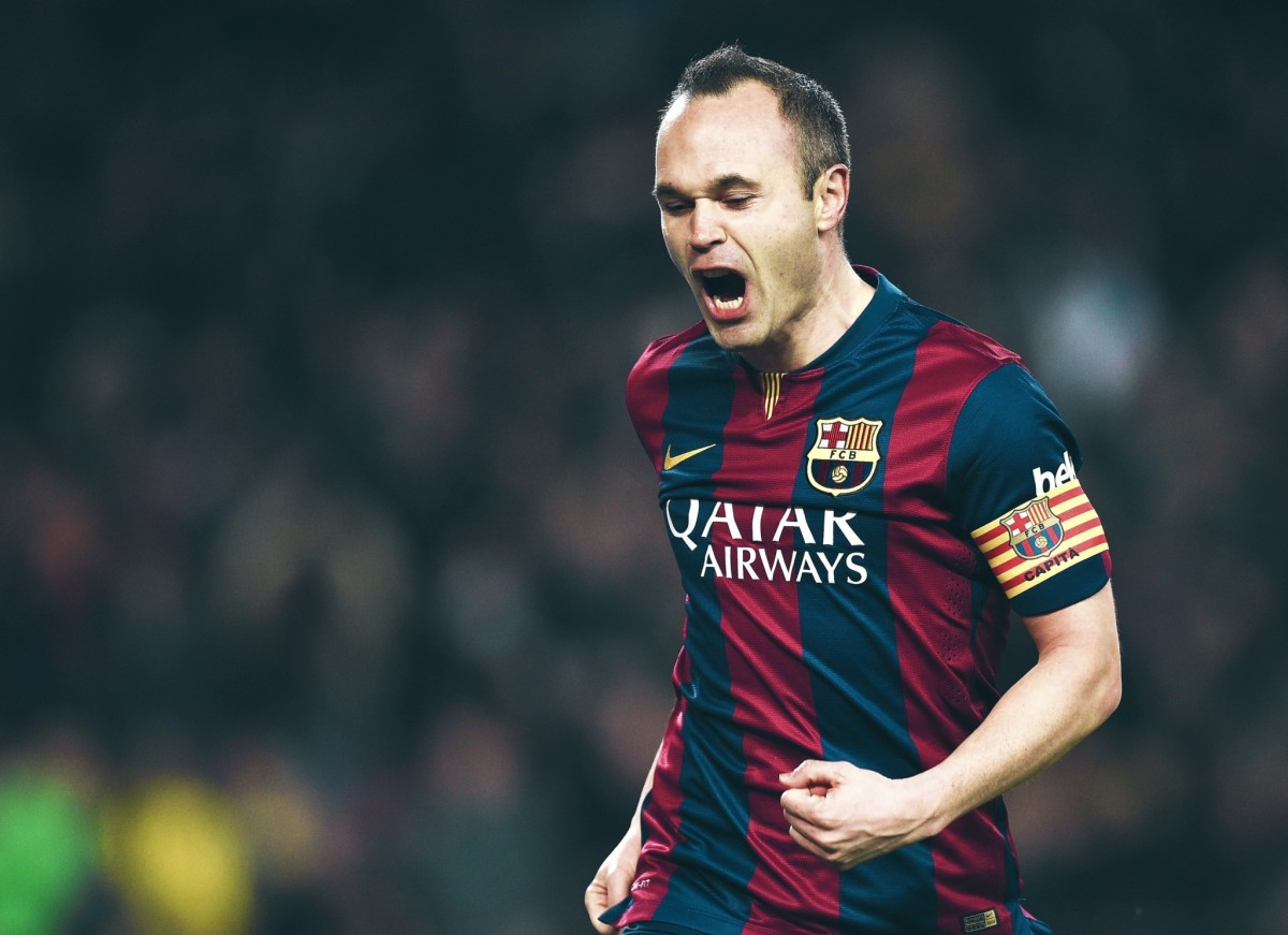 Andres Iniesta currently plays for Vissel Kobe in the J1 League.