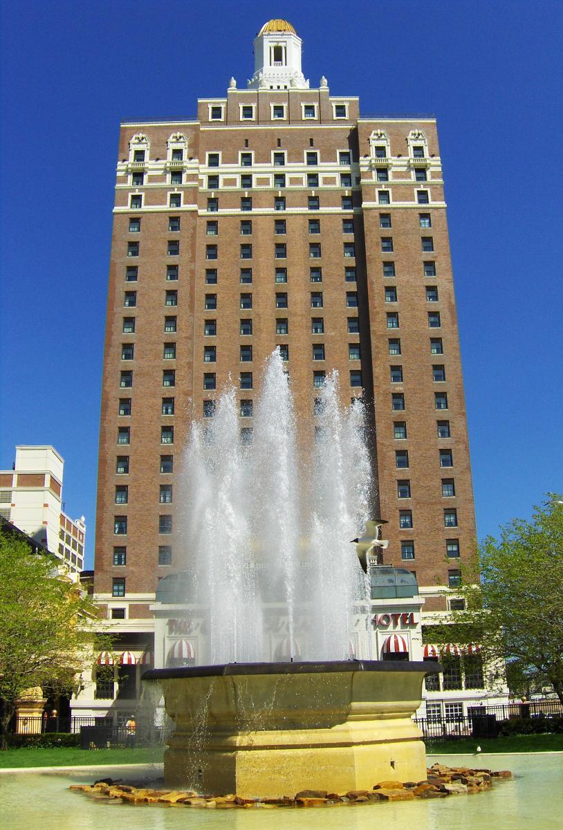 Claridge Hotel in Atlantic City today.