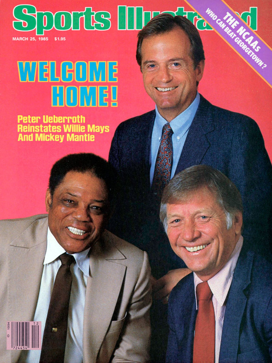 March 1985. Two icons officially welcomed back.