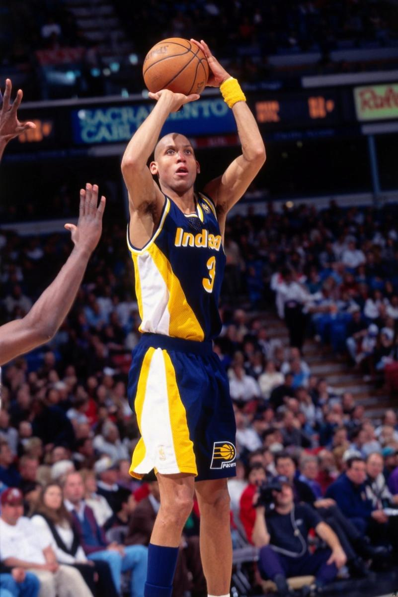 Reggie Miller was money in the 4th quarter.