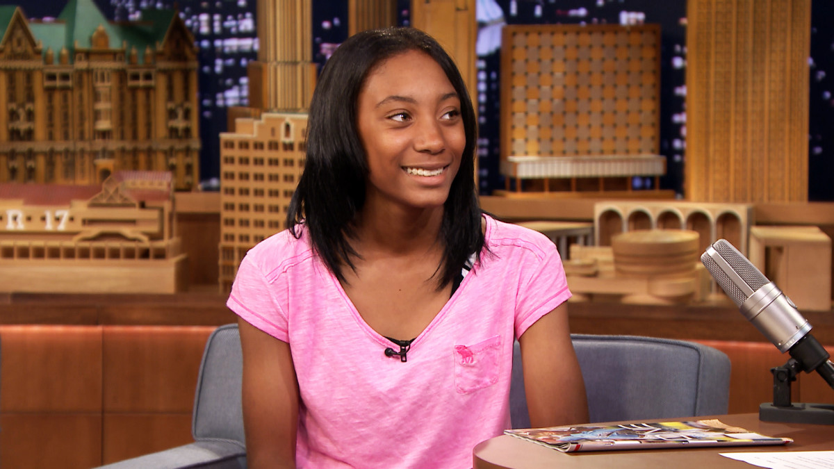Mo'ne Davis on talkshow