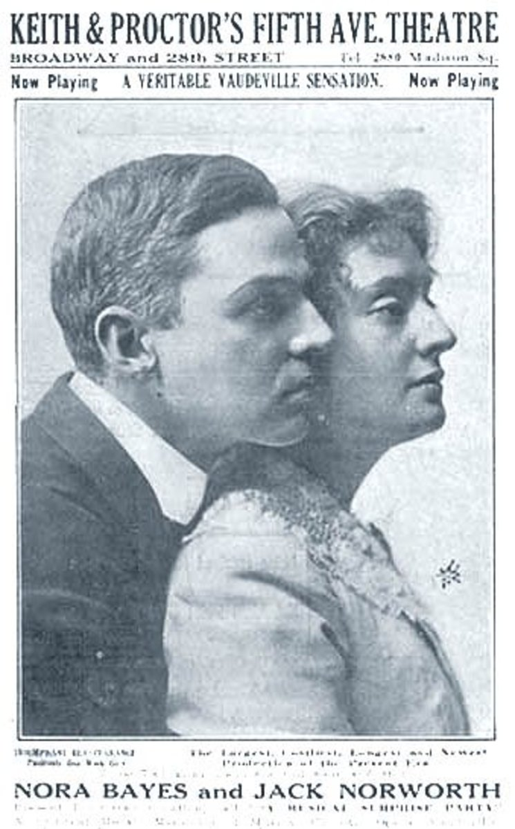 Jack Norworth and Norah Bayes