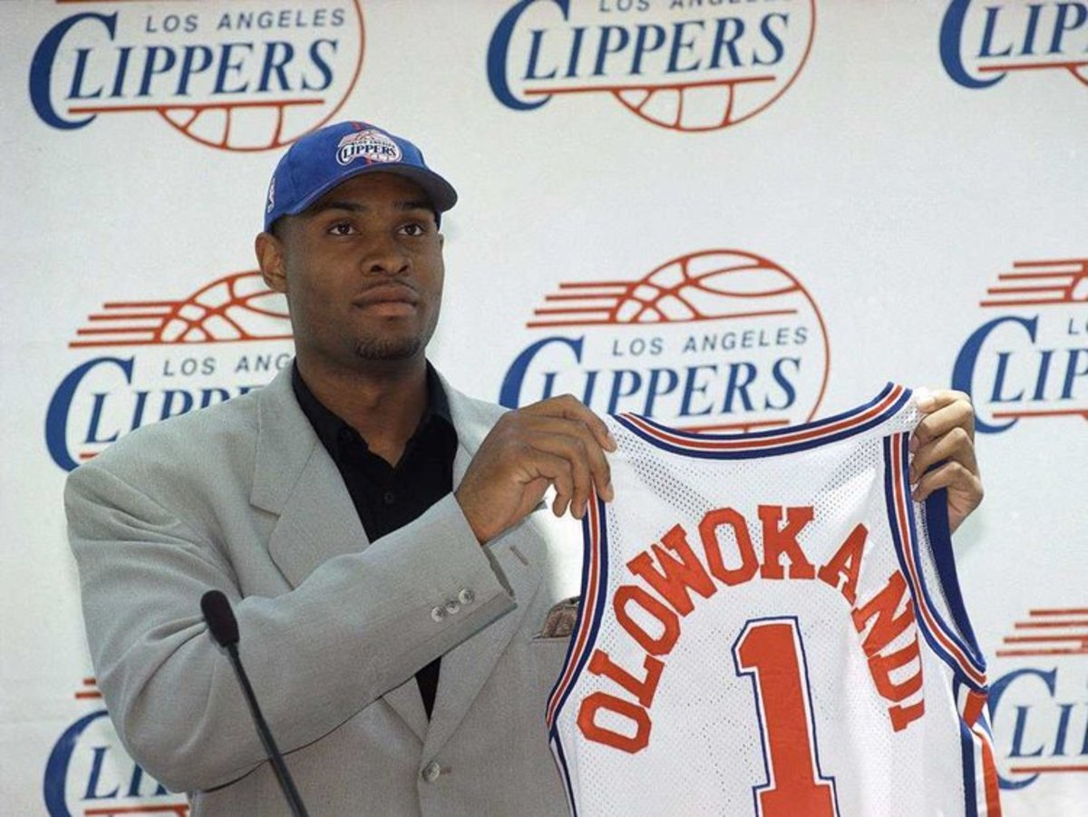 Michael Olowokandi was the number one pick in the 2008 NBA Draft.