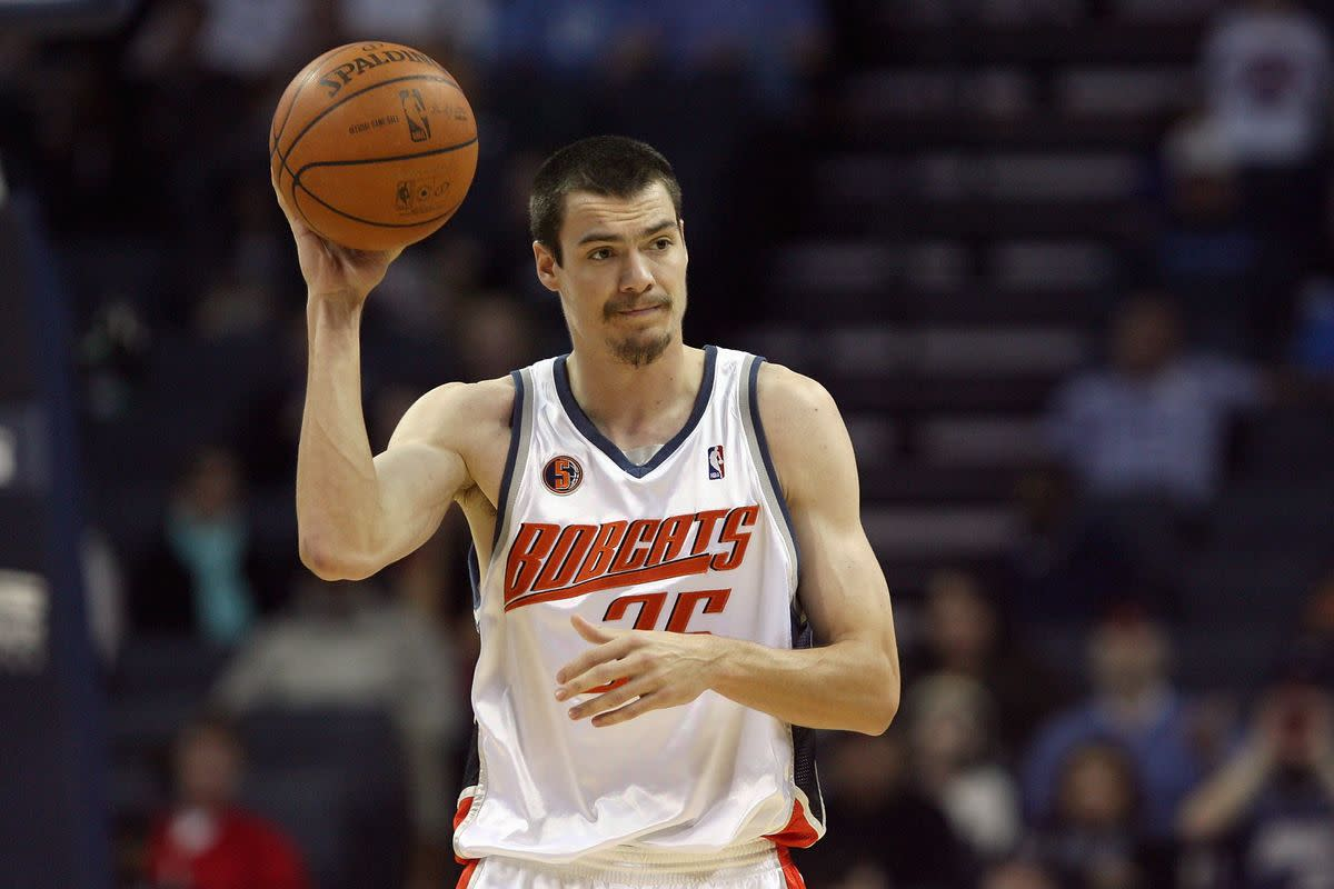 Adam Morrison was a highly touted player on the Charlotte Bobcats.
