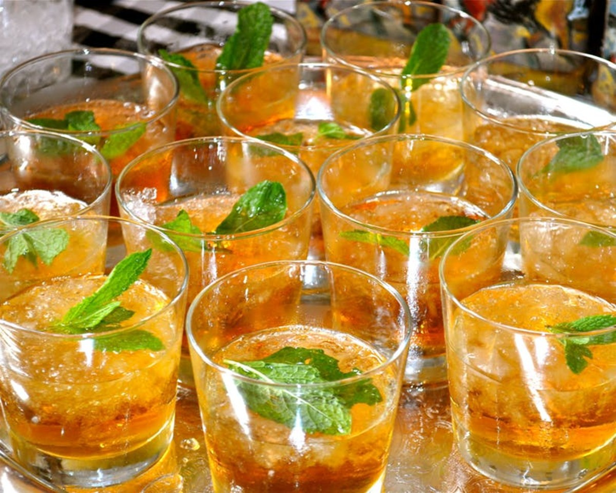 On Derby day over 120,000 mint juleps will be served at Churchill Downs