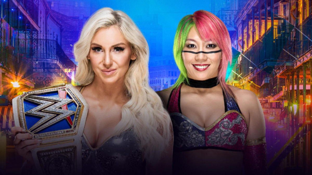 Charlotte vs. Asuka