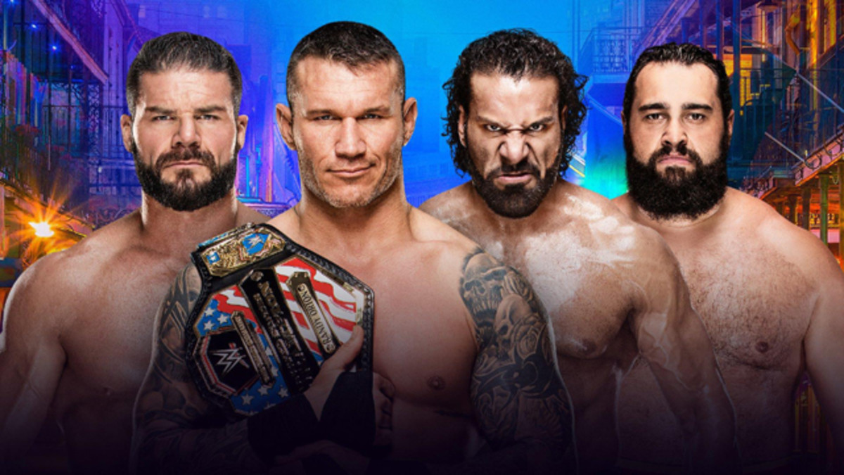 Randy Orton vs. Rusev vs. Bobby Roode vs. Jinder Mahal