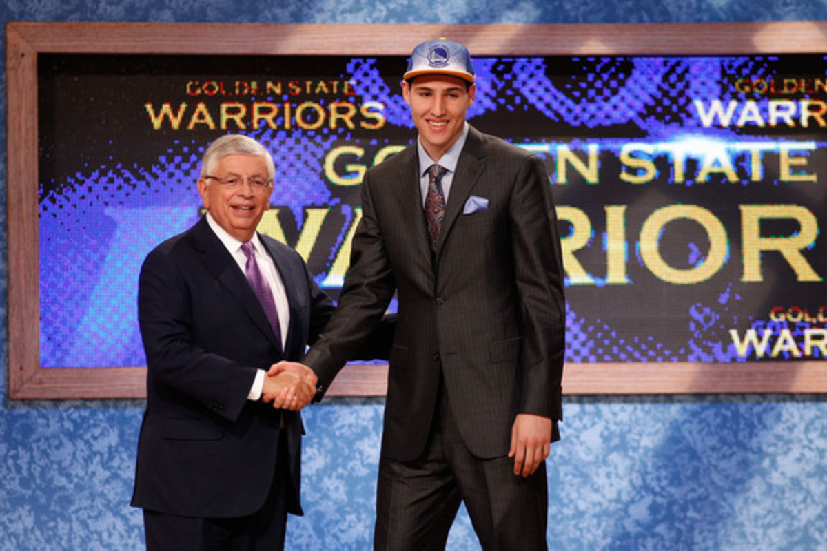 The Warriors drafted Klay Thomspon and paired him up with Steph curry to form one of the best shooting back courts in history.