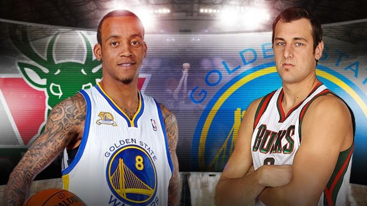 Warriors fans were not happy with fan favorite Monta Ellis being swapped for the oft-injured Andrew Bogut.