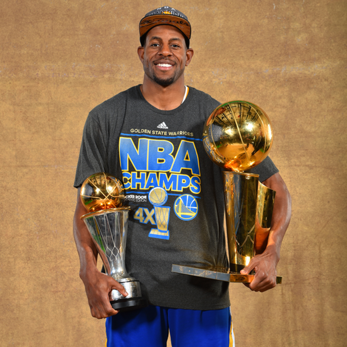 Andre Iguodala was key in the Warriors' 2015 championship run capturing MVP honors.