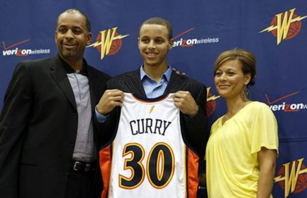 Steph Curry was the building block for the Warrior's dynasty.
