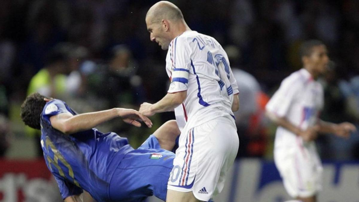 During his final World Cup appearance, Zidane headbutted Materazzi in what is now one of the most memorable moments in football history.