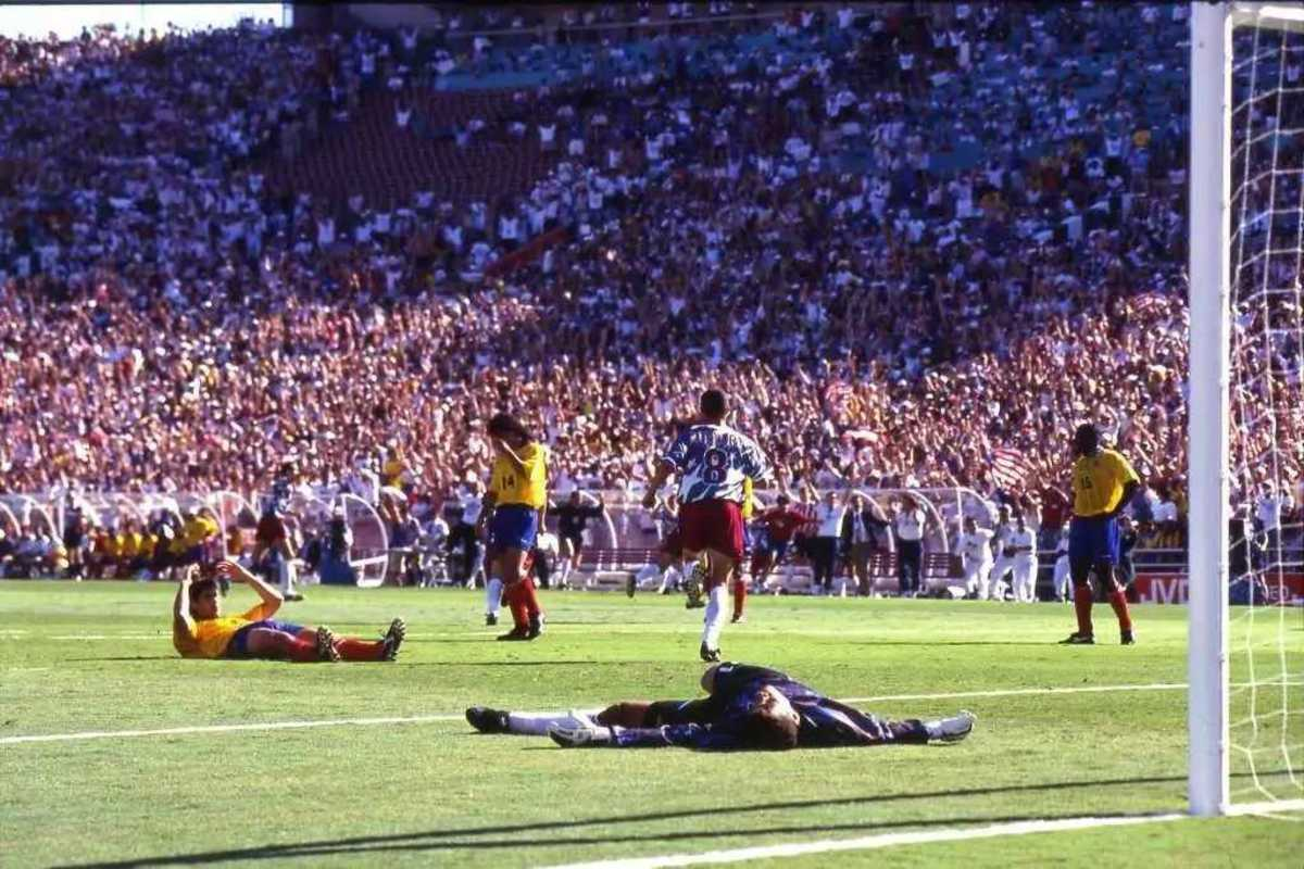 Escobar later paid a dangerous price for scoring against his own team during a World Cup match.