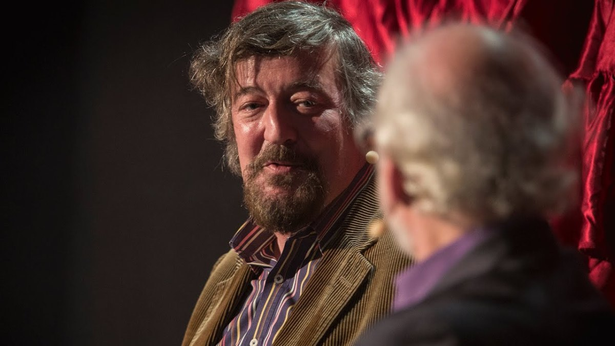 Stephen Fry debates the merits of Wagner at the Royal Opera House.