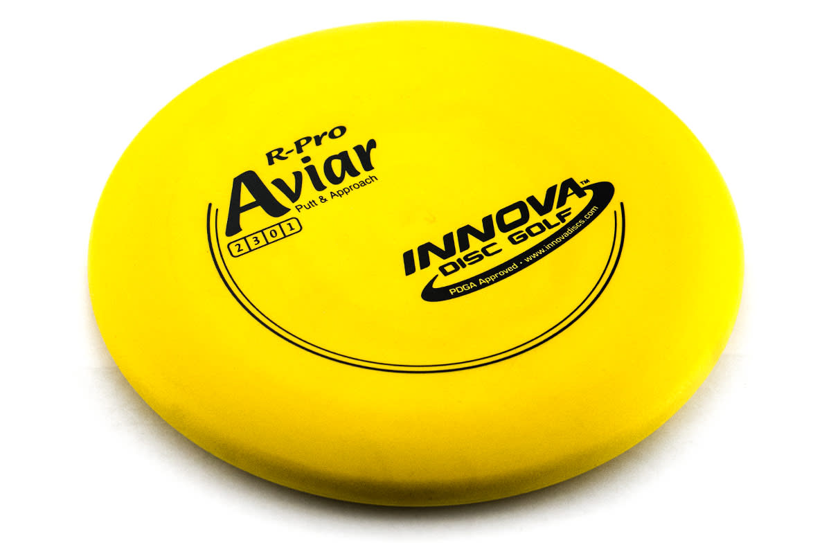 A Disc Golf Putt and Approach Disc