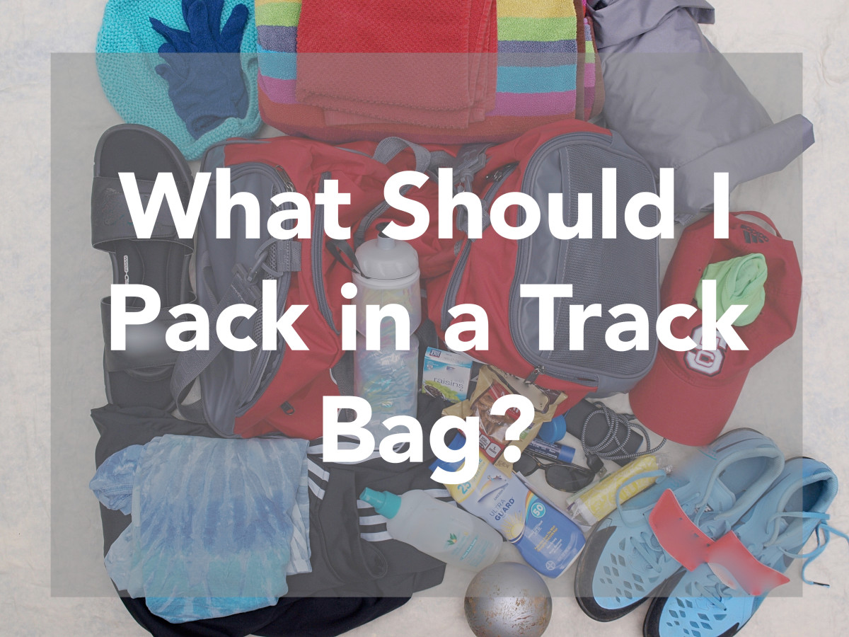 What should you pack in a track bag?  Here's a list.