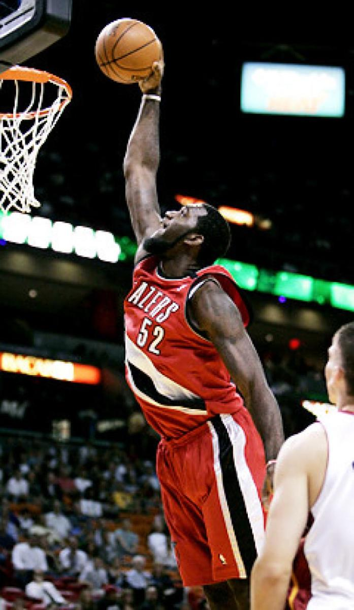 Greg Oden showed a lot of promise during the limited games he played in his career.