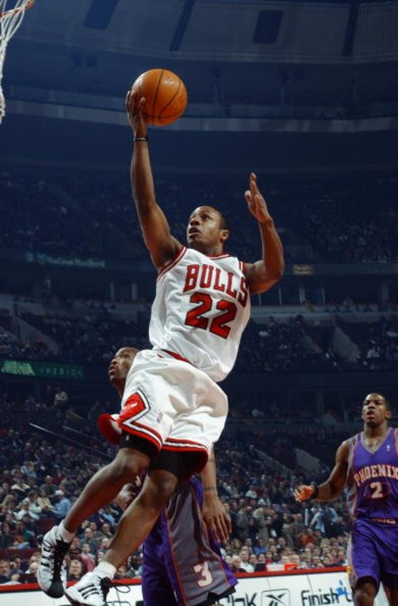Jay Williams was drafted to be the point guard of the future for the Chicago Bulls.