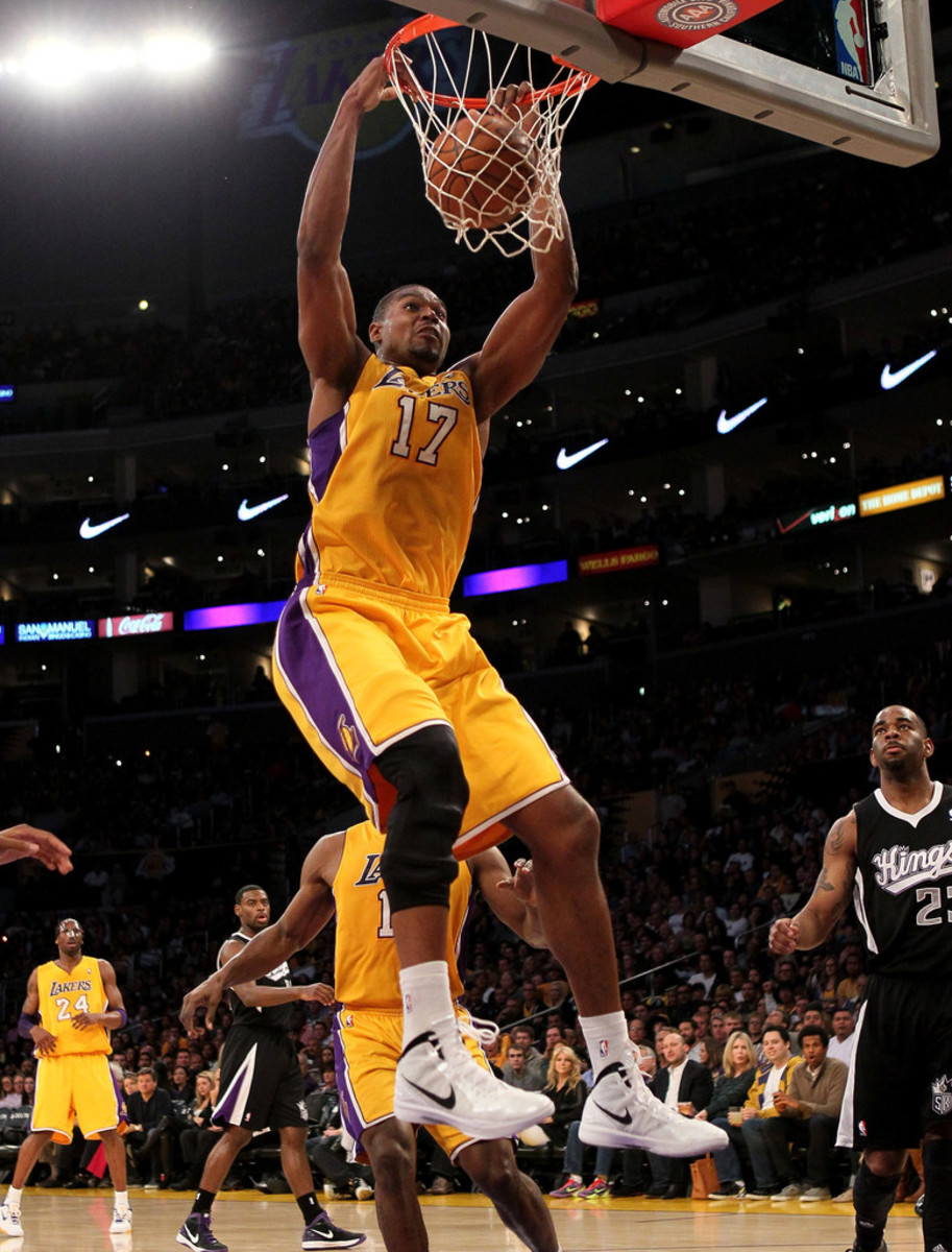 Andrew Bynum was supposed to be the next great center for the Lakers but immaturity and injury ruined that.