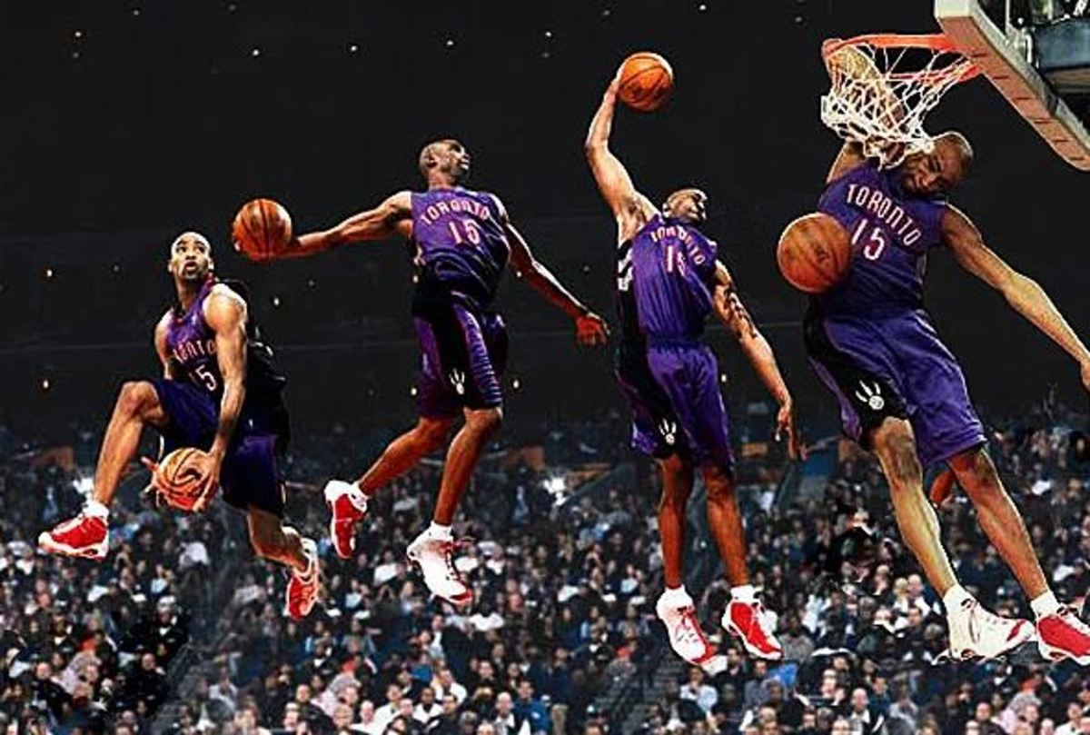 Vince Carter was half man half amazing for his tenure in Toronto.