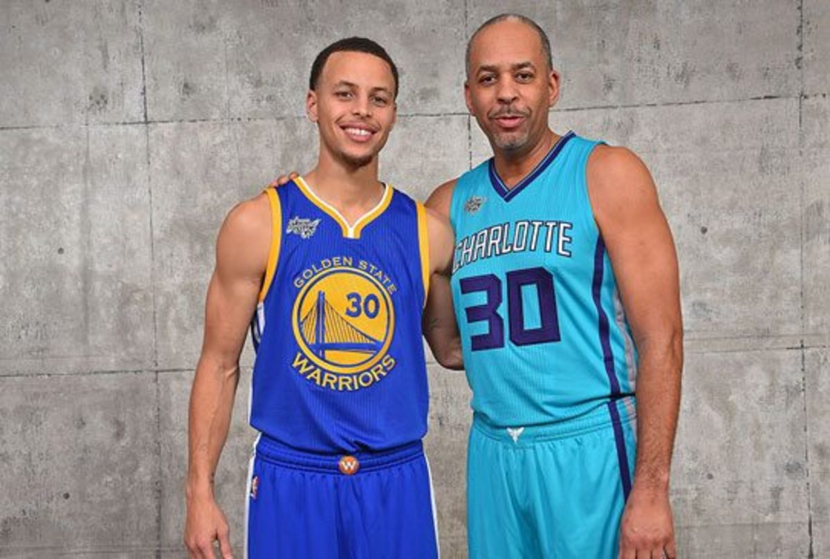 The apple does not fall far from the tree as both Steph and Dell are premiere marksmen.