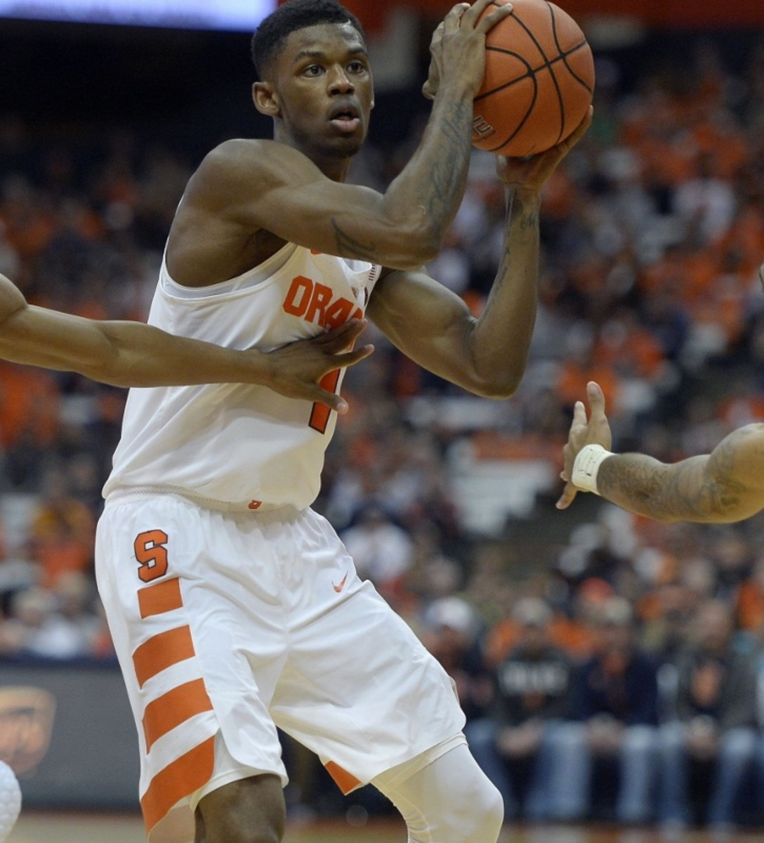 Frank Howard should have slightly less stressful offensive possessions this year.