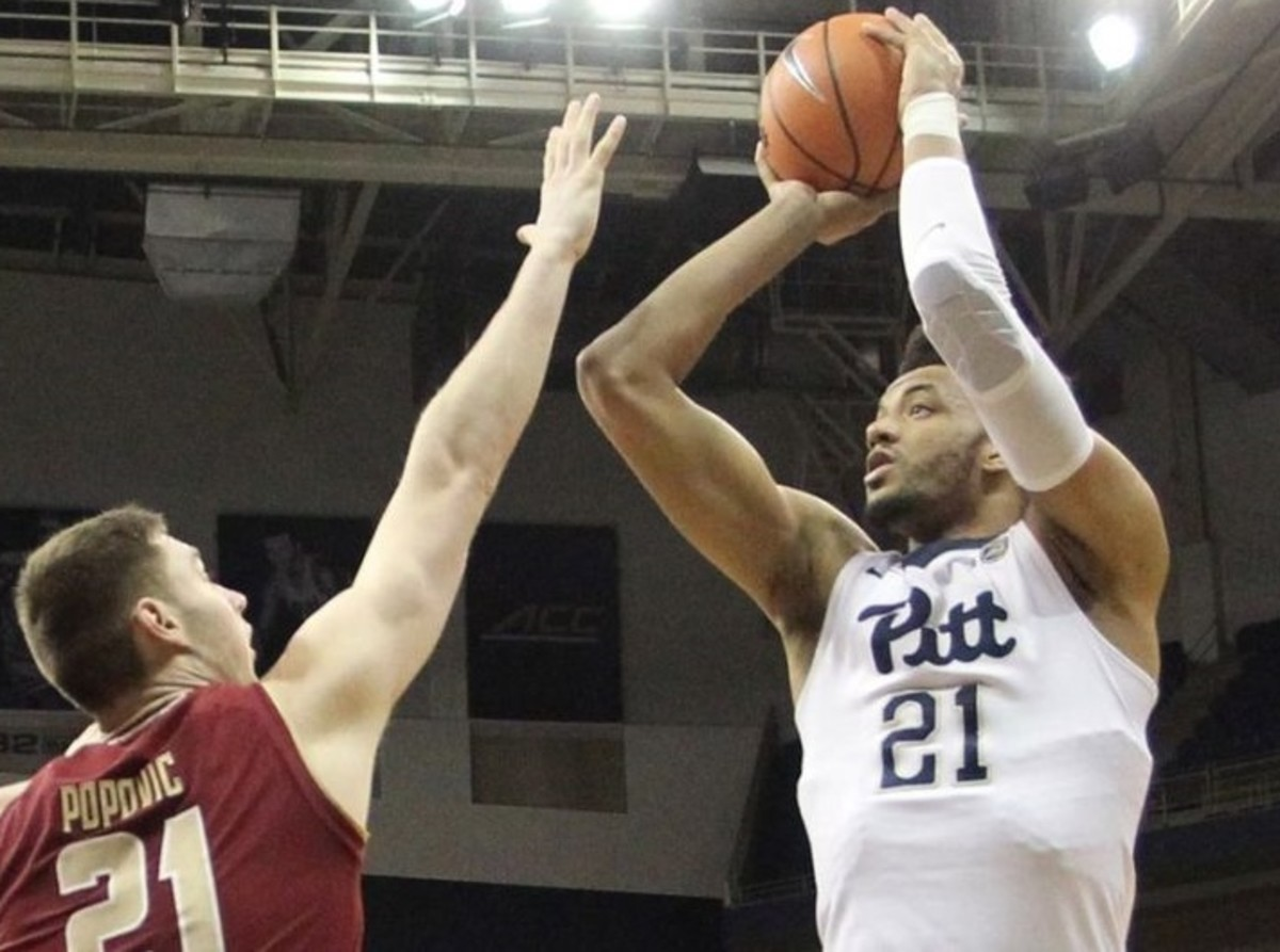 This year, Terrell Brown knows he'll be the only big man on the court for Pitt.