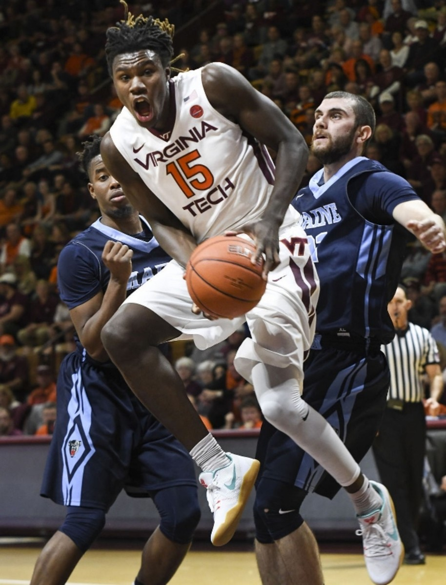 Chris Clarke has to stay healthy for Virginia Tech to compete at the defensive end and on the boards.