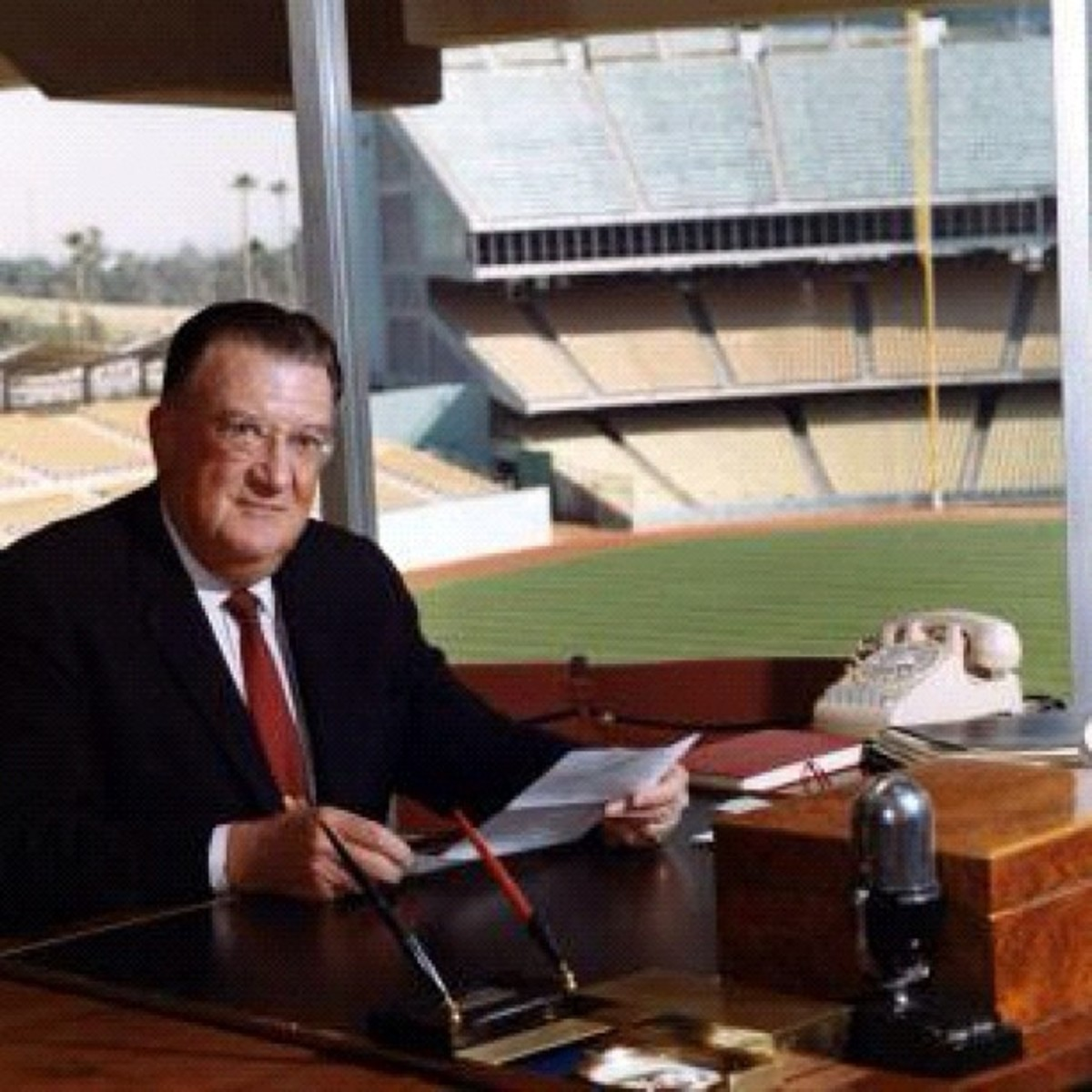 Dodger owner Walter O'Malley