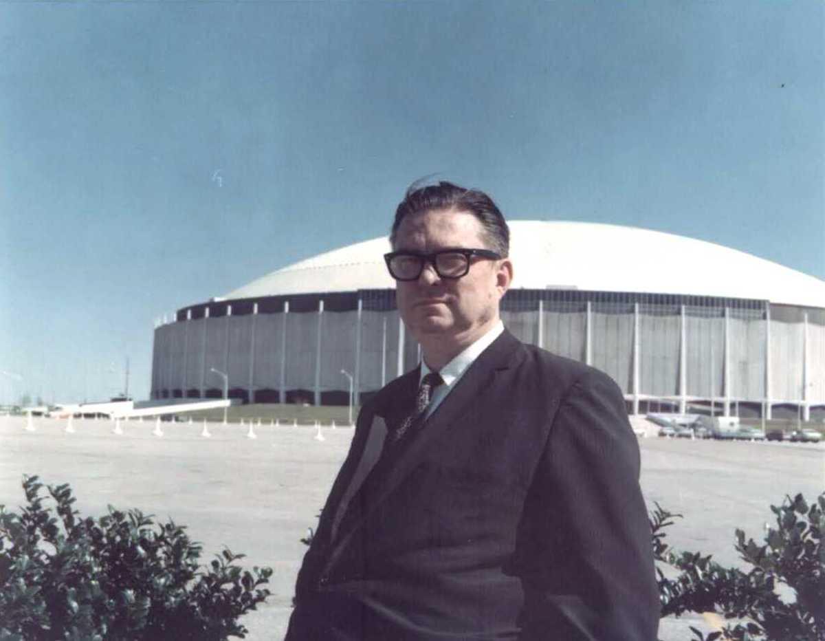 Astros owner Roy Hoffheinz