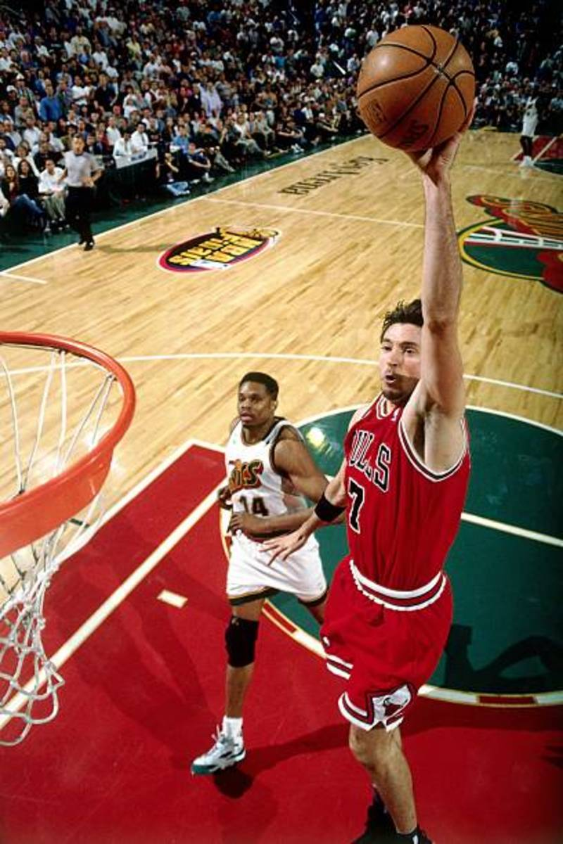 Toni Kukoc was one of  premier sixth men in the NBA during his prime.