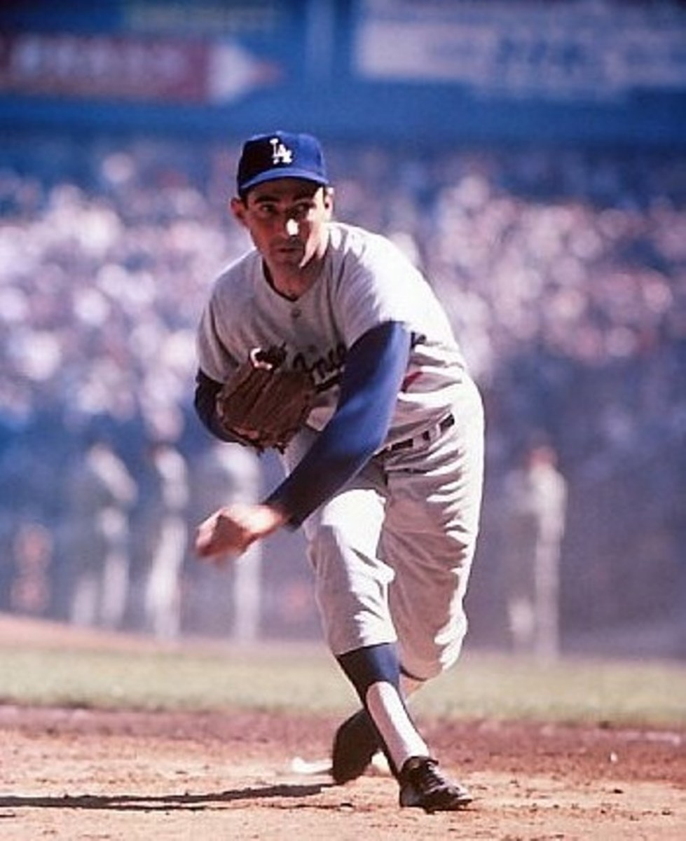 Koufax in control (Marvin Newman)