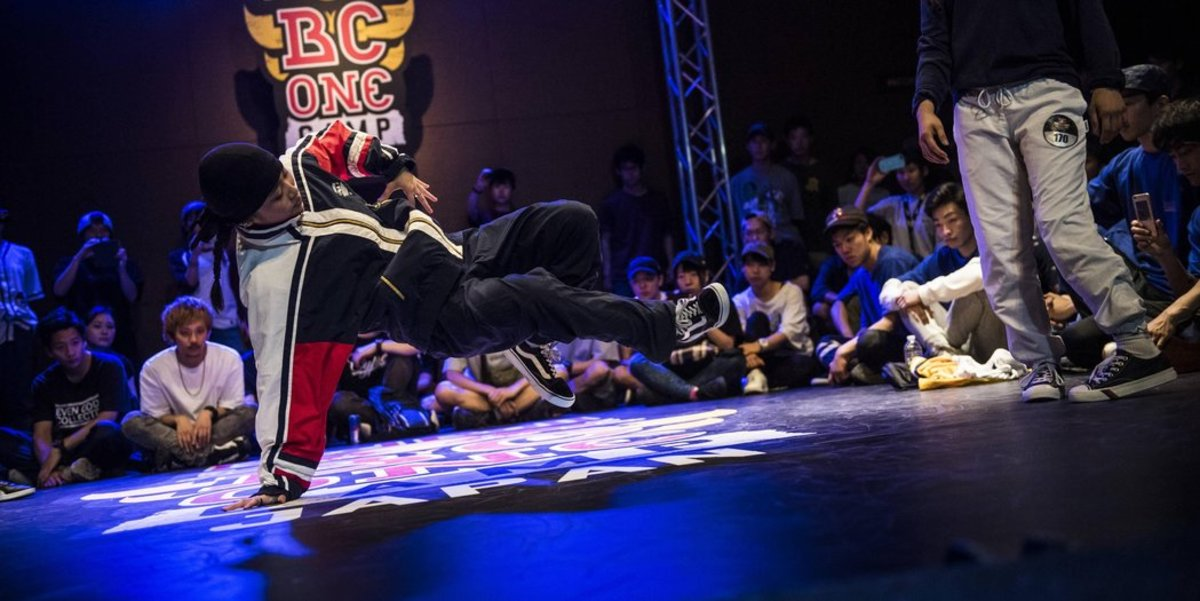 Courtesy of Red Bull.  Red Bull has been hosting competitions worldwide for a number of years now.  With competitors from across the globe, each brings their own style and faces off against other styles peacefully, connecting different people.