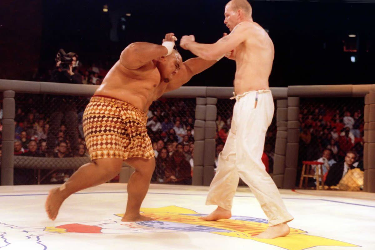 Early UFC fights are often criticized for their brutality and lack of rules. They also however showcased the different styles' tactics, with some being more effective than others depending on the opponent.