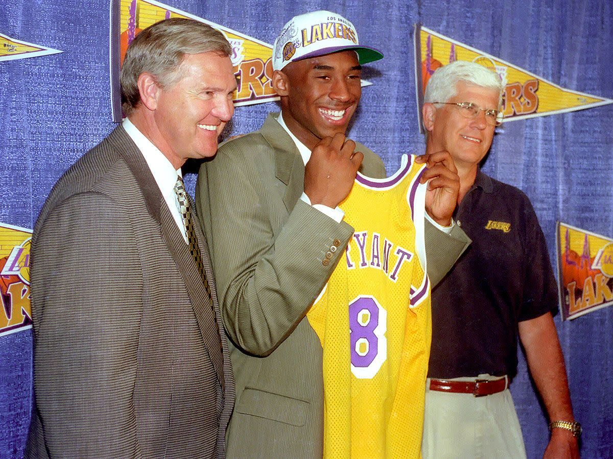 Kobe Bryant was acquired by the Lakers for the small price of Vlade Divac.