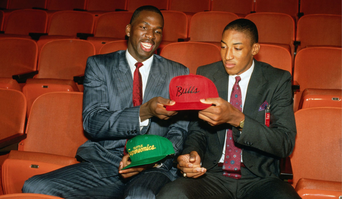 Scottie Pippen won 6 championships with Michael Jordan while Polynice never became anything close to a star.