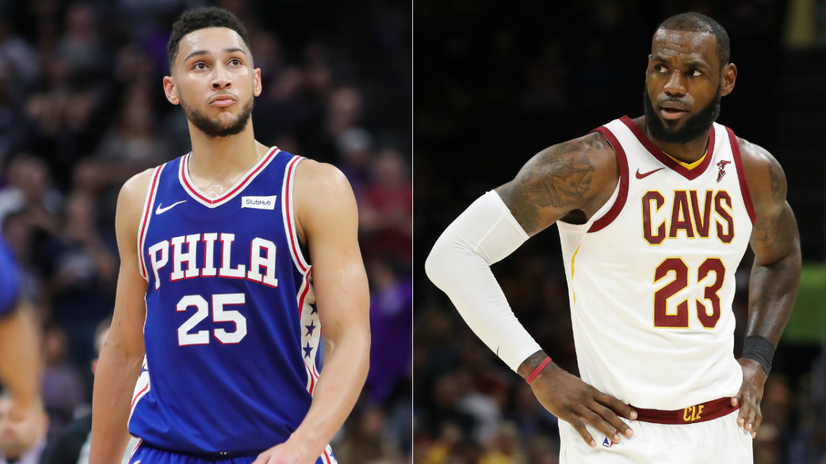 Ben Simmons is projected to be the heir to LeBron James' throne.