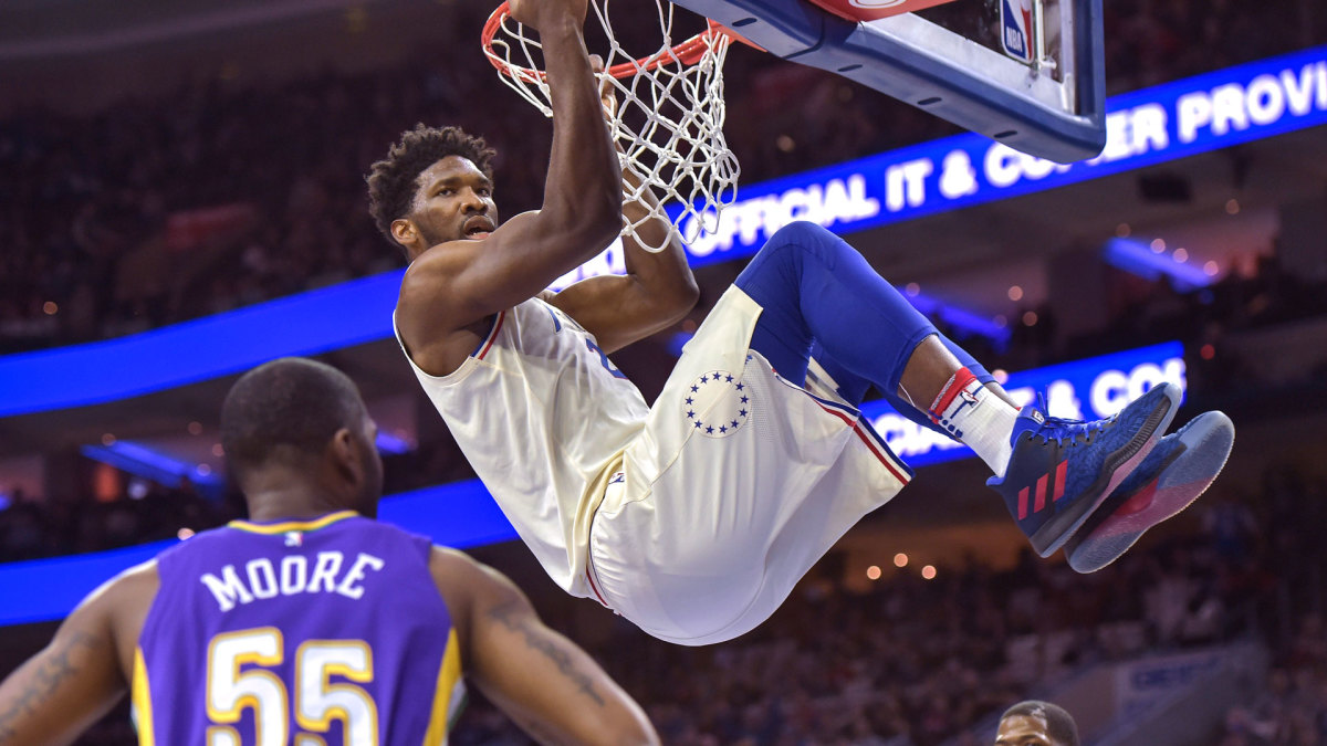 There was no question Embiid was a star. The question was if he could stay healthy.