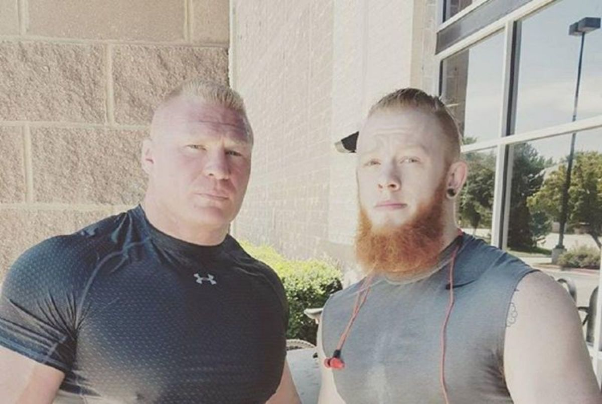 Lesnar is a private person.