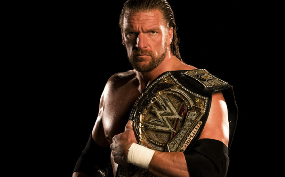 Triple H is now an executive for WWE.