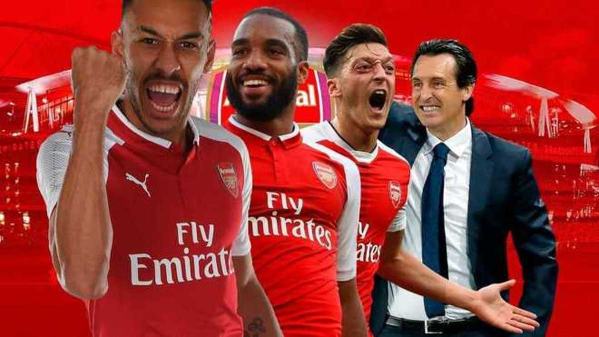 """Arsenal are colloquially called """"The Gunners""""."""