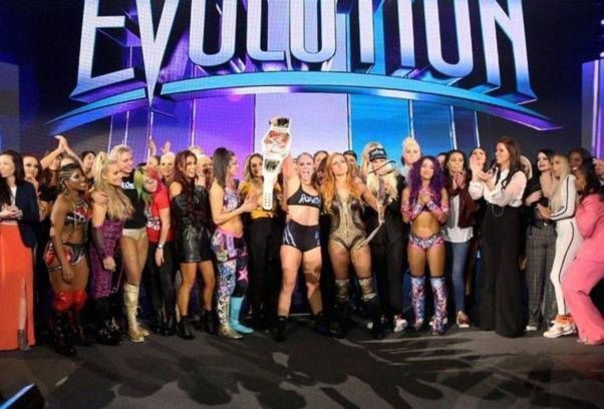 Women who made Evolution a big success