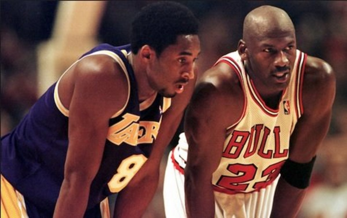 Kobe Bryant Idolized Michael Jordan and even got to battle him on the court.
